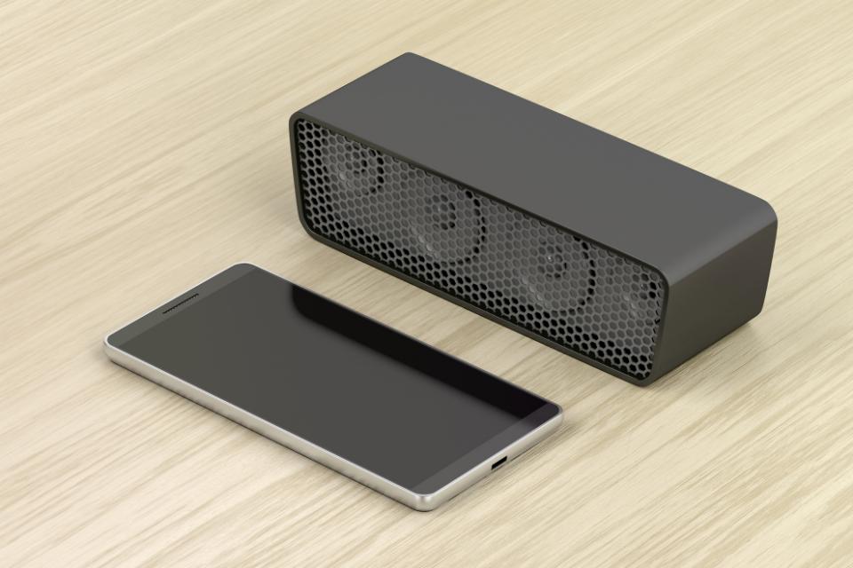 Połączenie zewnętrznego urządzenia przez Bluetooth