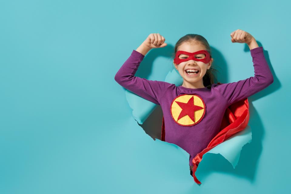 Superbohaterowie - gra dla najmłodszych
