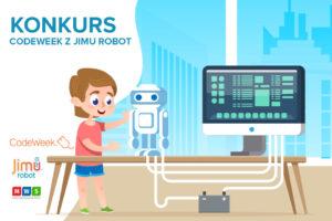 CodeWeek i roboty Jimu - konkurs dla dzieci